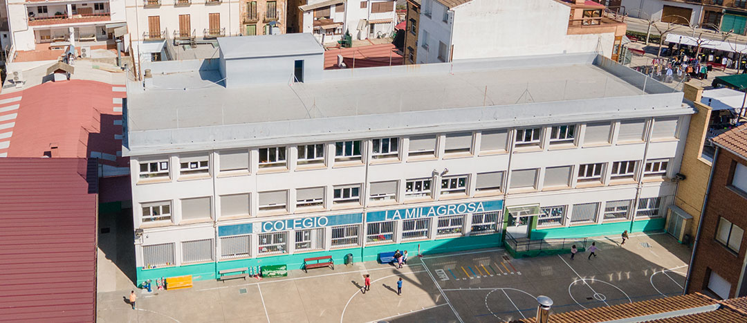 Servicios. Colegio Mater Dei, Ayegui - Estella