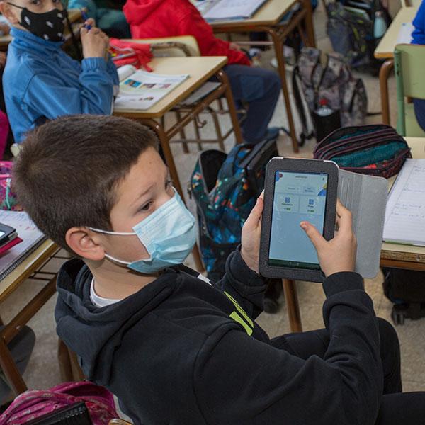 Metodología: TIC, Tecnologias de la información y de la comunicación. Colegio Mater Dei, Ayegui - Estella