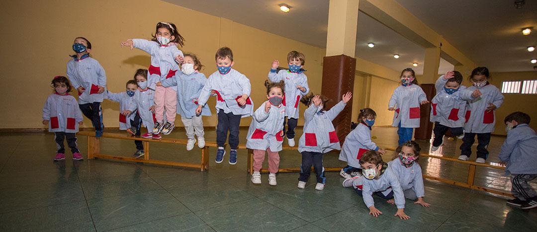 De 0 a 3 años, primer ciclo de Educación Infantil. Colegio Mater Dei. Ayegui - Estella