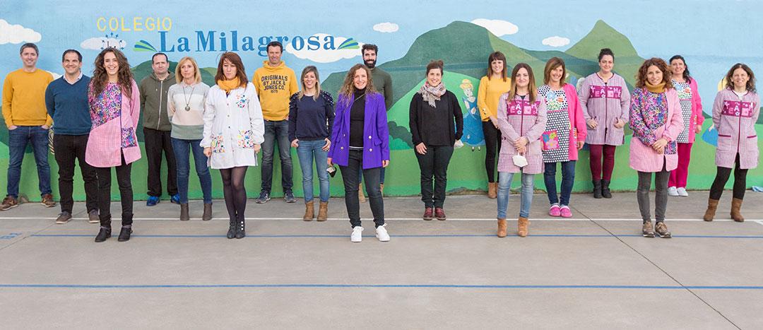 Equipo docente. Colegio Mater Dei, Ayegui - Estella
